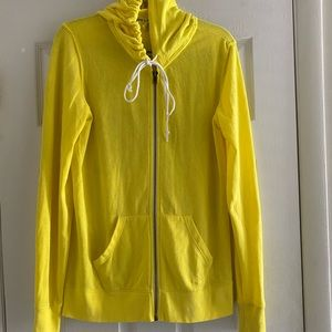 Yellow Size small PINK hoodie,